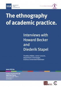 2015 - The ethnography of academic practice